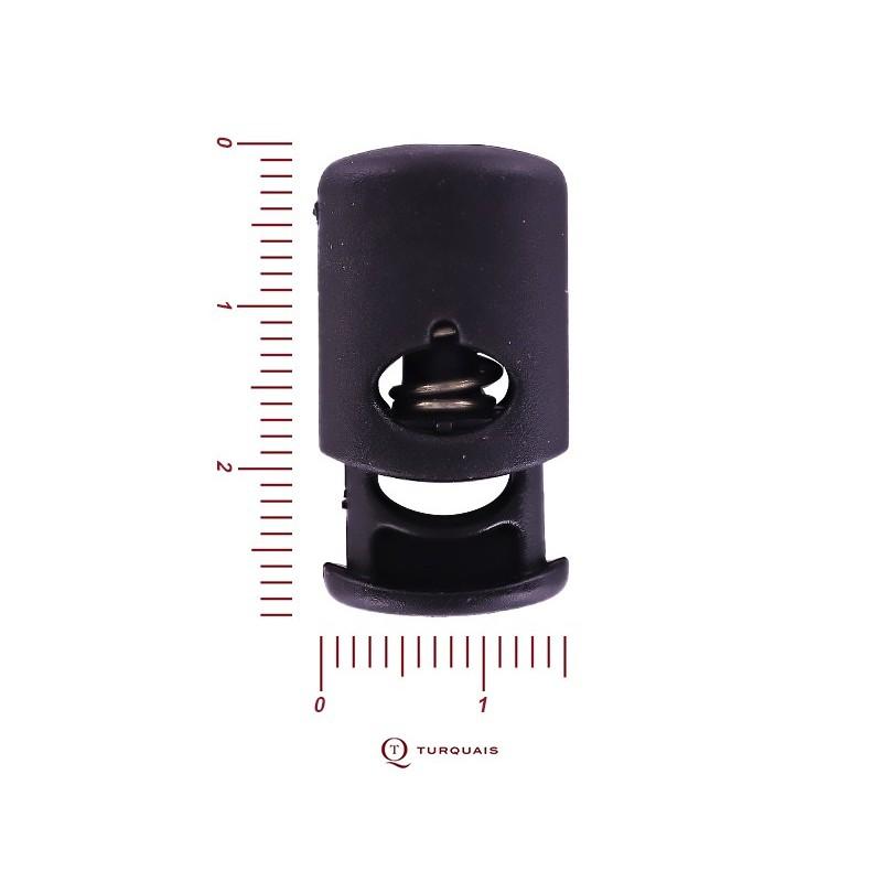 Serre-cordon polyamide noir
